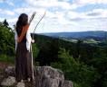 Archeress on Kašperk